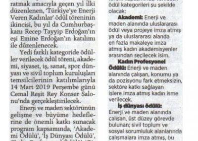 Milliyet 08.03.2019