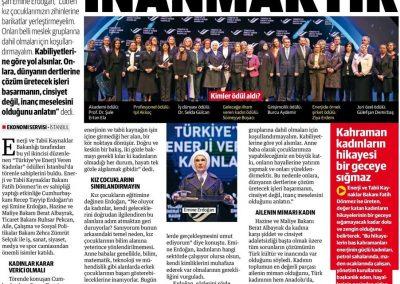 Yeni Safak 16.03.2019