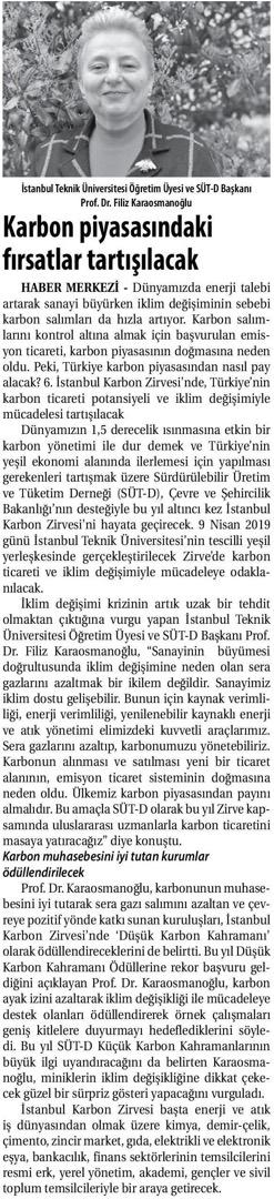 Ticaret Gazetesi 05.04.2019
