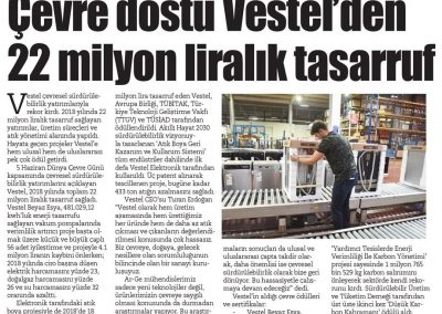 Egemen Gazetesi 08.06.2019